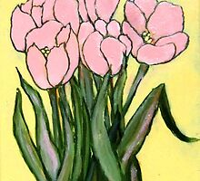 Pink Tulips by Carole Chapla
