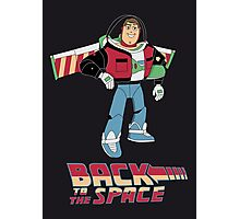 Buzz to the future poster Photographic Print