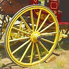 Fancy Wagon Wheel by David DeWitt