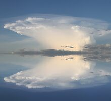 Reflection of a Cloud @ Derby WA by Mark Ingram