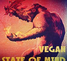 Vegan State of Mind by thehippievegan