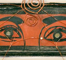 Spider Eyes Watching You Sticker
