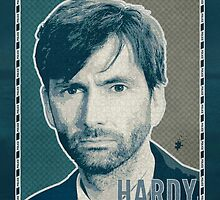 DI Hardy - Broadchurch Green (Greeting Card) by ifourdezign