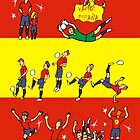 Worldcup 2014 ESPAÑA  by colortown