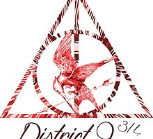 District 9 3/4 - Red by Bocaci