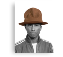 Pharrell Williams Hat Canvas Print