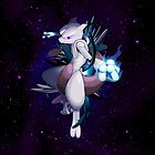 Mewtwo Aura by hardsign