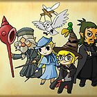 The Legend of Zelda / Harry Potter by AngelCisneros