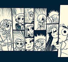 Scott Pilgrim by AngelCisneros