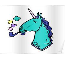 Sailor Unicorn Poster