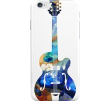 Vintage Guitar - Colorful Abstract Musical Instrument iPhone Case/Skin