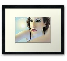 Truth Seeker - Self Portrait Framed Print