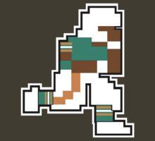 Nintendo Tecmo Bowl Miami Dolphins B by jackandcharlie