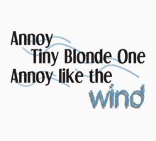 Annoy Tiny Blonde by amposindigo
