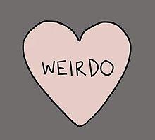Weirdo by Adrian Sandersfeld