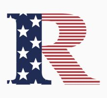 Rated R American Flag Version by FreshThreadShop