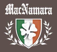 MacNamara Family Shamrock Crest (vintage distressed) Kids Clothes
