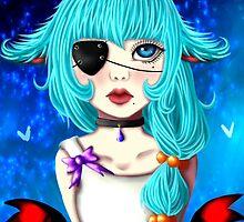 Fish Girl by DanielleSpades