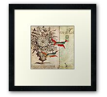 Fish of a Feather Framed Print