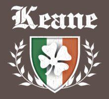 Keane Family Shamrock Crest (vintage distressed) Kids Clothes