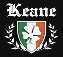 Keane Family Shamrock Crest (vintage distressed) by robotface