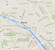 maps: paris by marinatbooth