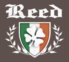 Reed Family Shamrock Crest (vintage distressed) Kids Clothes