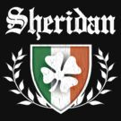 Sheridan Family Shamrock Crest (vintage distressed) by robotface