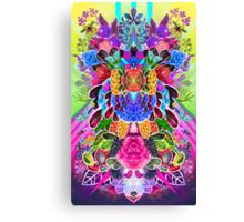 Flower Explosion Canvas Print