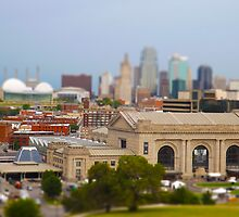 Union Station Downtown Tilt Shift Kansas City Photograph by THarmonArt