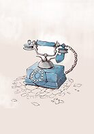 Old Telephone by randoms