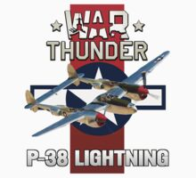 War Thunder P-38 Lightning by Mil Merchant