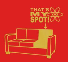 Big Bang Theory thats my spot by shahidk4u