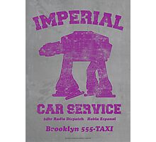 AT-AT Taxi (Safety Orange) Photographic Print