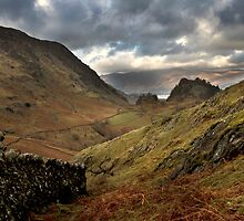Castle crag by Peter Skillen