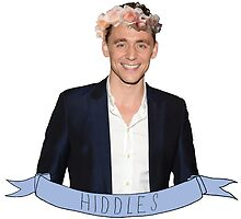 Hiddles - Flower Crown by thrandys-crown