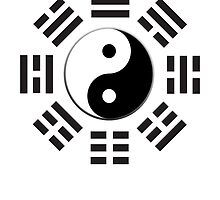 Yin & Yang I Ching; Pure & simple by TOM HILL - Designer