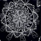 Black Lace Mandala by collectincat