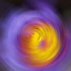 Meditation - Abstract Energy Art By Sharon Cummings by Sharon Cummings