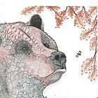 Bear and the Honeybee by collectincat
