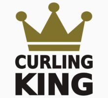 Curling king champion by Designzz