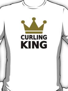 Curling king champion T-Shirt