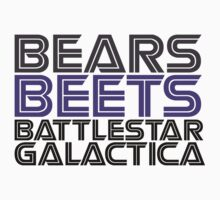 Bears, Beets, Battlestar Galactica. by millerstrations