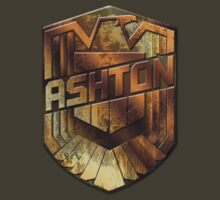 Custom Dredd Badge - Ashton by CallsignShirts