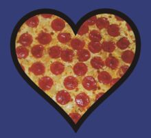 Heart Of Pizza by Alsvisions