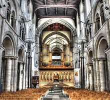 Rochester Cathedral  by paulmuscat