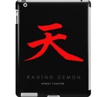 Raging Demon Minima iPad Case/Skin