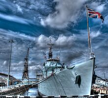 HMS Cavalier Destroyer Ship   by paulmuscat