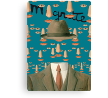 Tribute to MAGRITTE Canvas Print