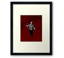 Steve - Zombie Framed Print